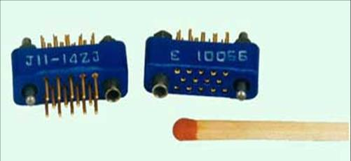 J11 Mini type Rectangular Electrical Connector series Connectors Product solid picture
